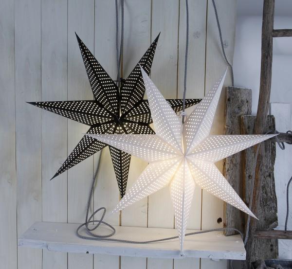 Huss 60cm pappersstjärna, vit